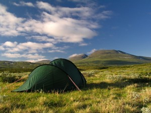 Du kan tage på campingtur med din rygsæk.